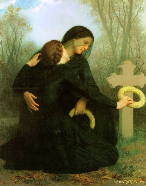 "Willian-Adolphe Bouguereau ""All Saints' Day"""