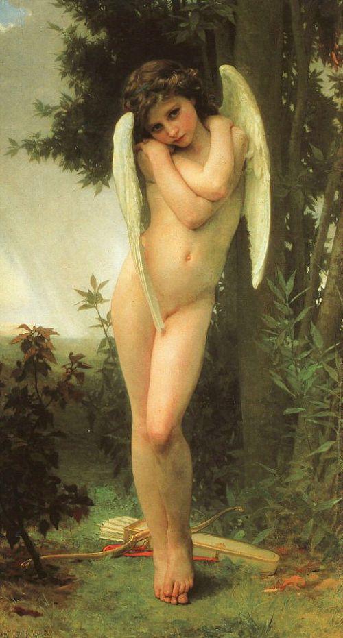 "William-Adolphe Bouguereau ""Cupido"" 1875"