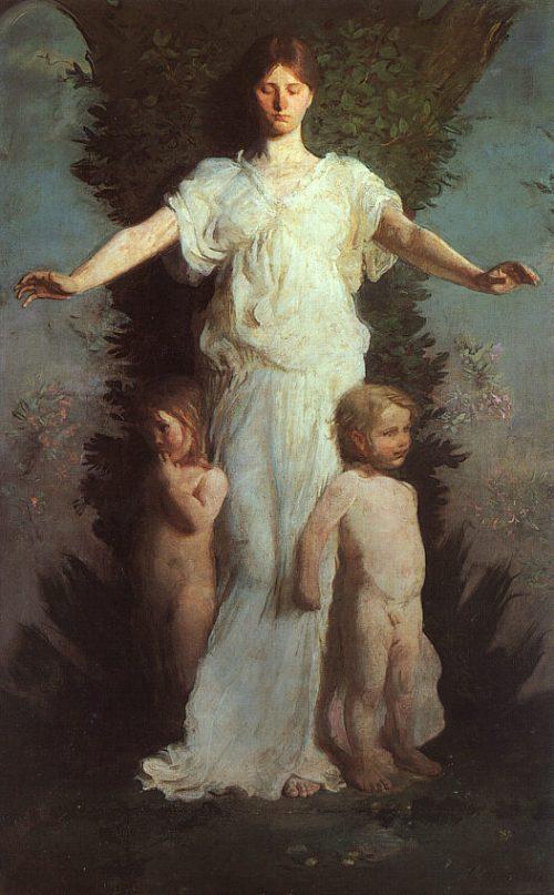 "Abbot H. Thayer - ""Caritas"""