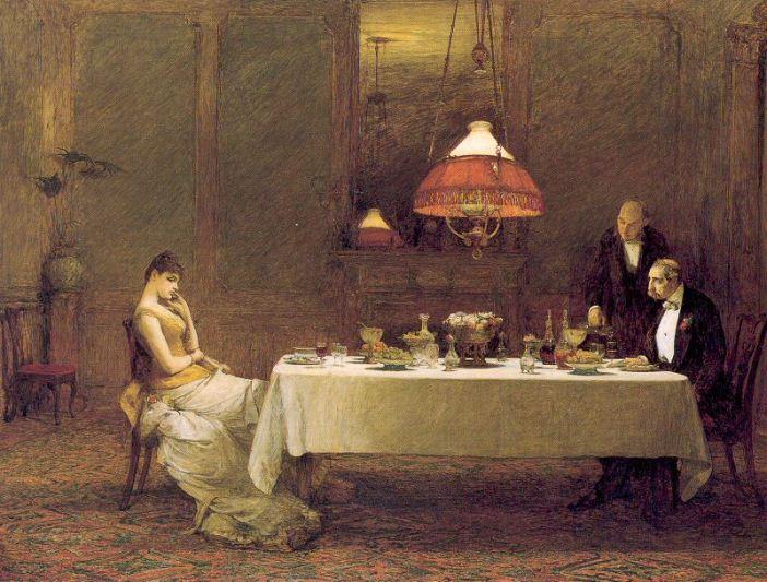 Sir William Quiller Orchardson - Casamento de conveniência - 1884